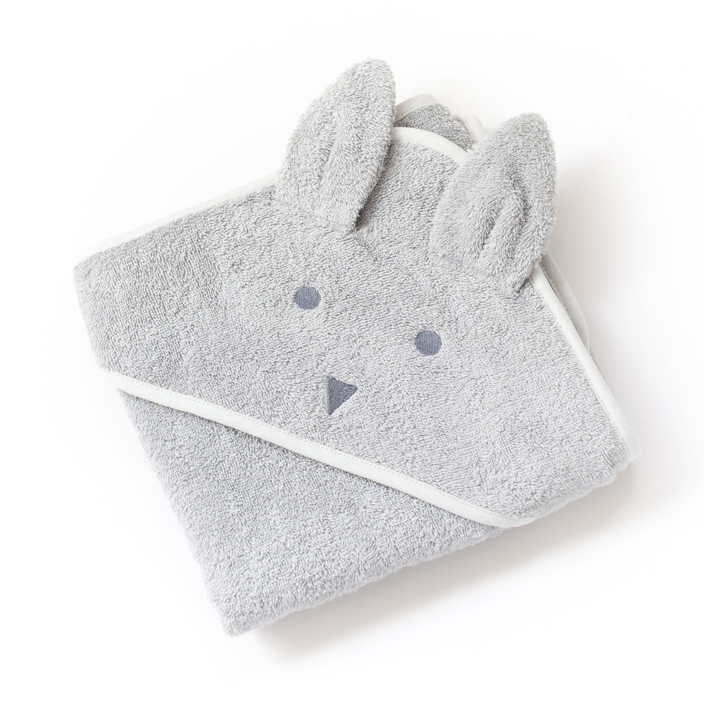 Molly & Moo Beau Bunny Hooded Towel