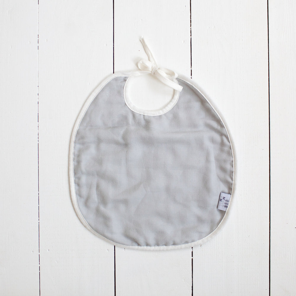 Organic Cotton Muslin Bibs (pack of 2)