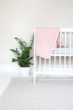 Muslin Blanket in Blush
