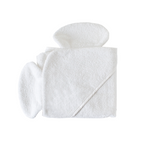 Nellie Elephant Hooded Towel - Newborn