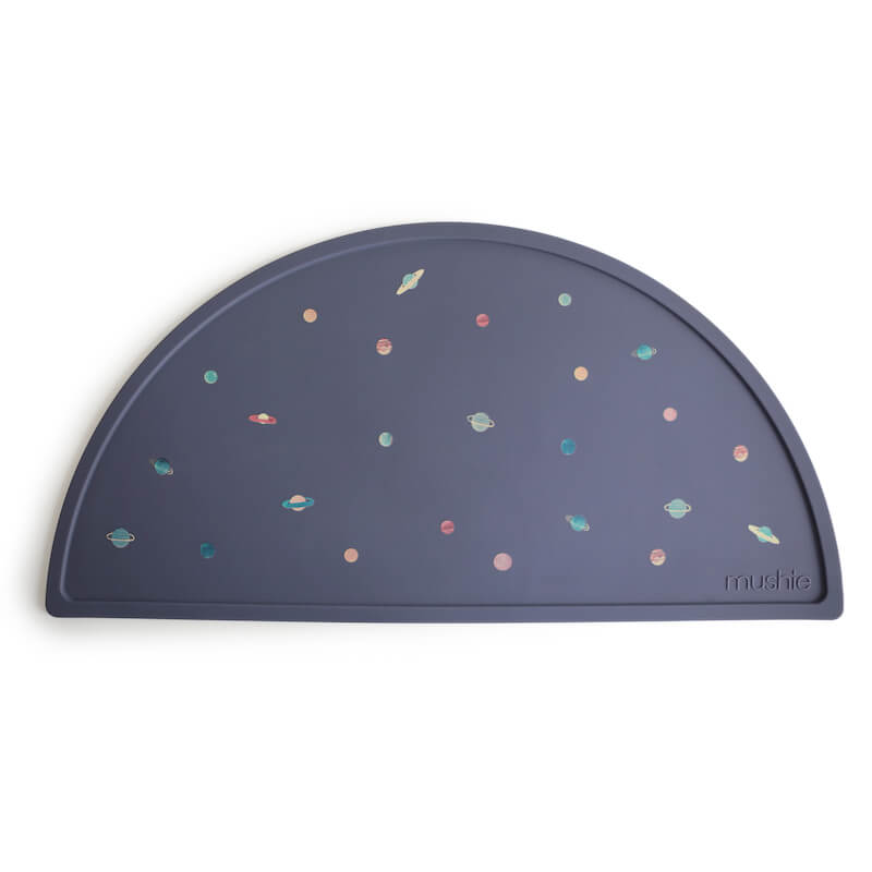 Mushie Silicone Placemat in Planets