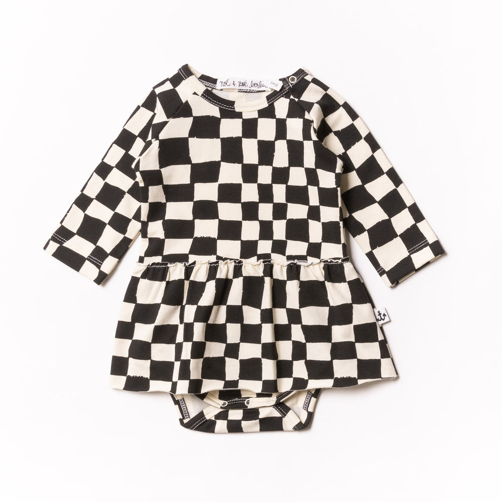 Baby Black Checker Body with Skirt