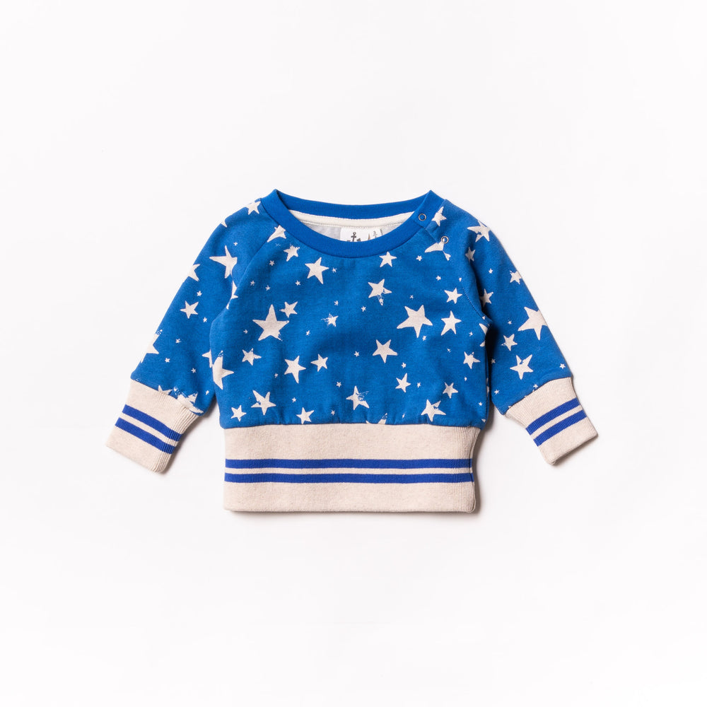 Baby Stars Fleece Jumper