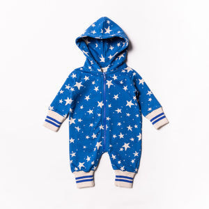 Baby Stars Fleece Jumpsuit