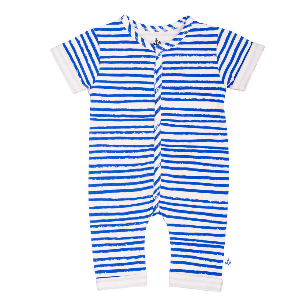 Harem Overall Blue Stripes