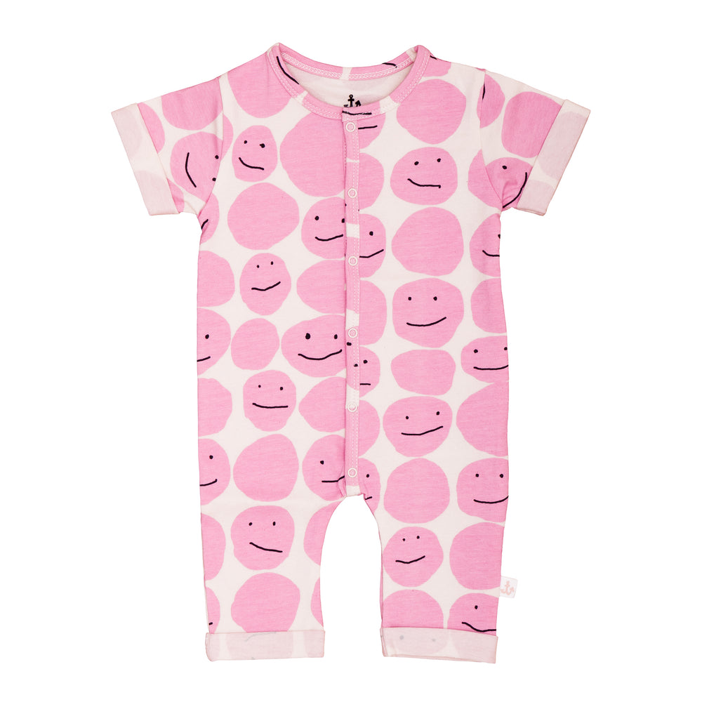 Harem Overall Pink Smiley
