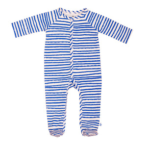 Berlin Footie PJ Blue Stripes