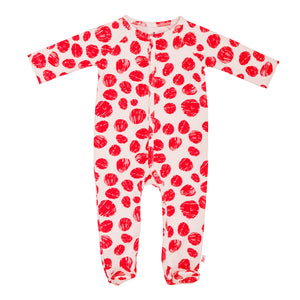 Berlin Footie PJ Red Dots