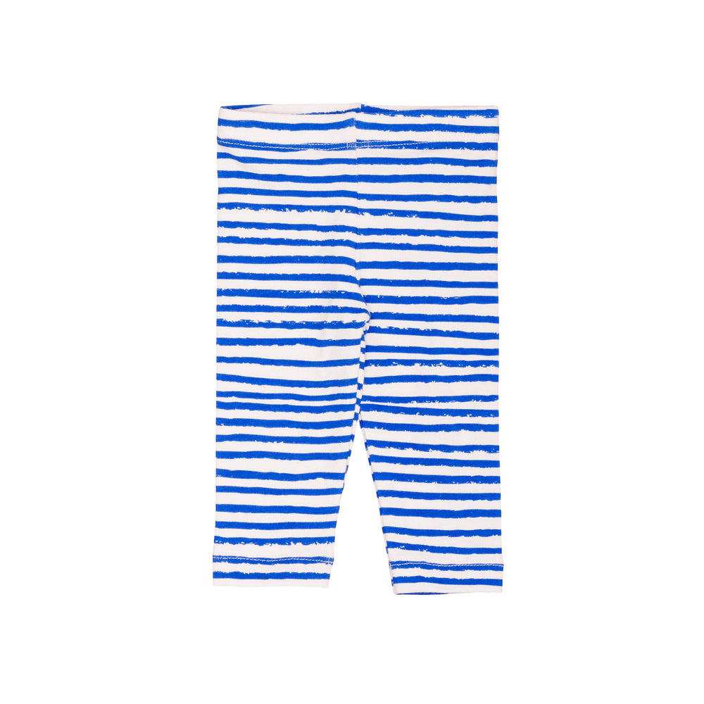 Baby Leggings Blue Stripes