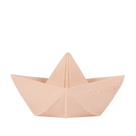 Oli & Carol Origami Boat Bath Toy in Nude