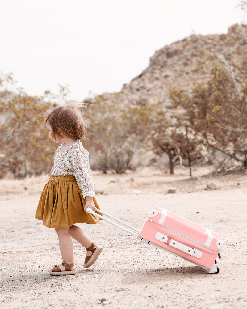 See-Ya Suitcase in Rose
