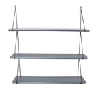 Rose in April Babou 3 Wall Shelf in Grey