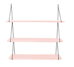 Rose in April Babou 3 Wall Shelf in Light Pink