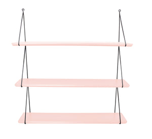 Babou 3 Wall Shelf in Light Pink