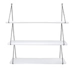 Rose in April Babou 3 Wall Shelf in White
