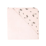 Rose in April Colette Baby Hooded Bath Towel in Light Pink