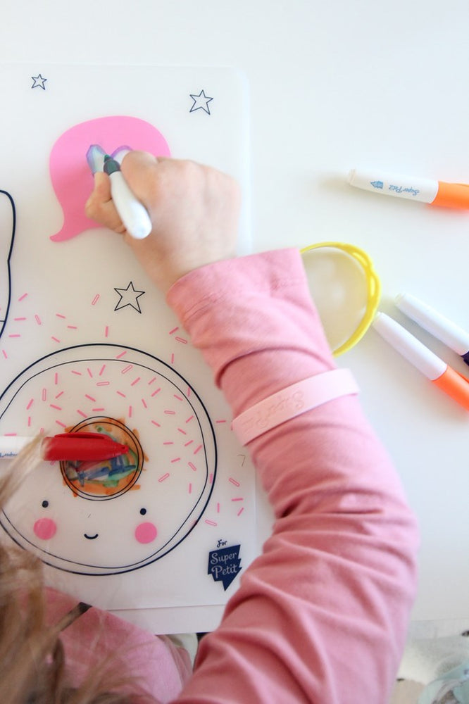Silicone Colouring in Placemat – A Little Lovely Company