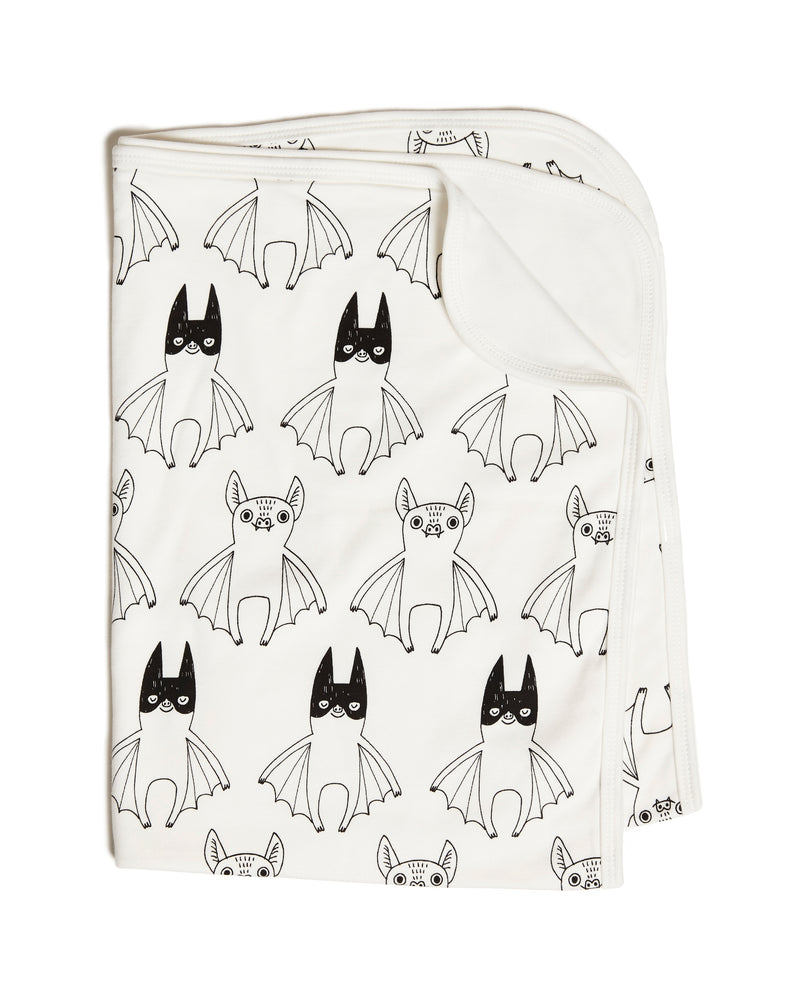 Tobias & the Bear 'Super Batty' Baby Blanket
