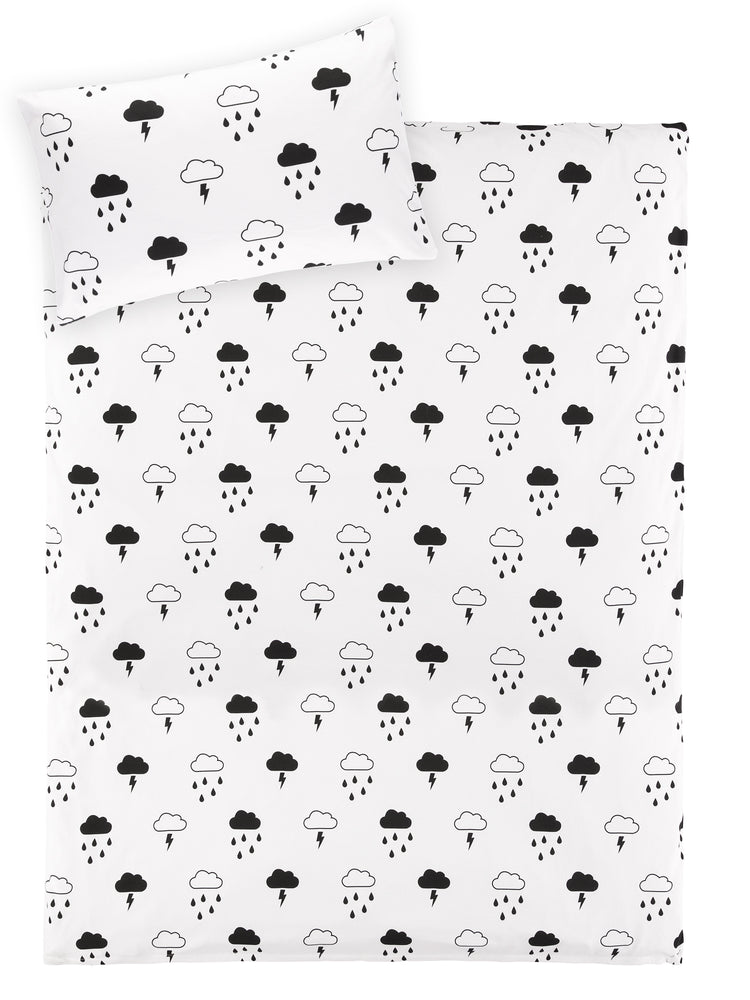 Tobias & the Bear 'Storm Boy' Cotbed Duvet Set