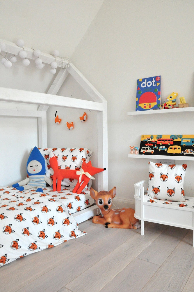 Just Call Me Fox Single Duvet Set