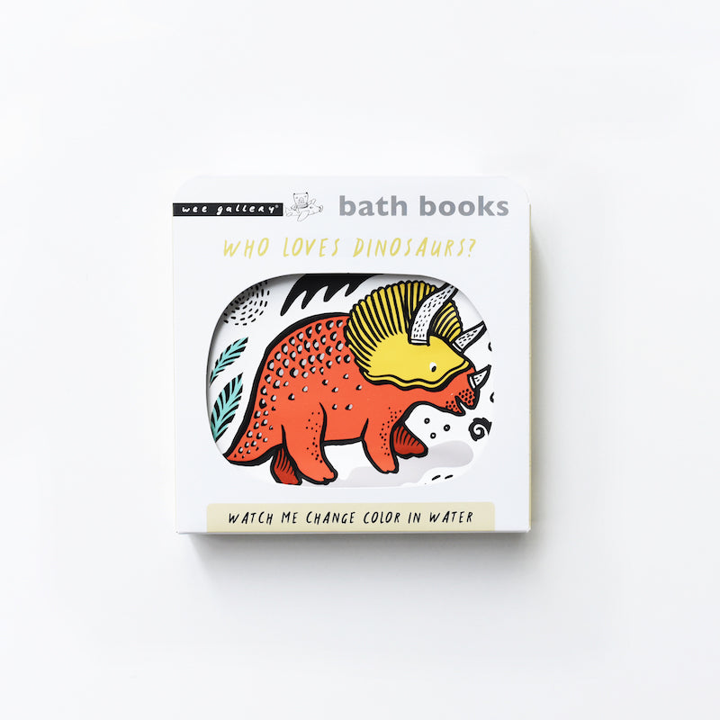 Bath Book - Who Loves Dinosaurs?