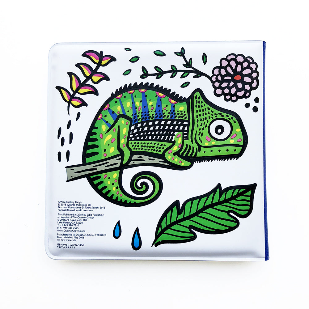 Wee Gallery Bath Book - Who's in the Rainforest?