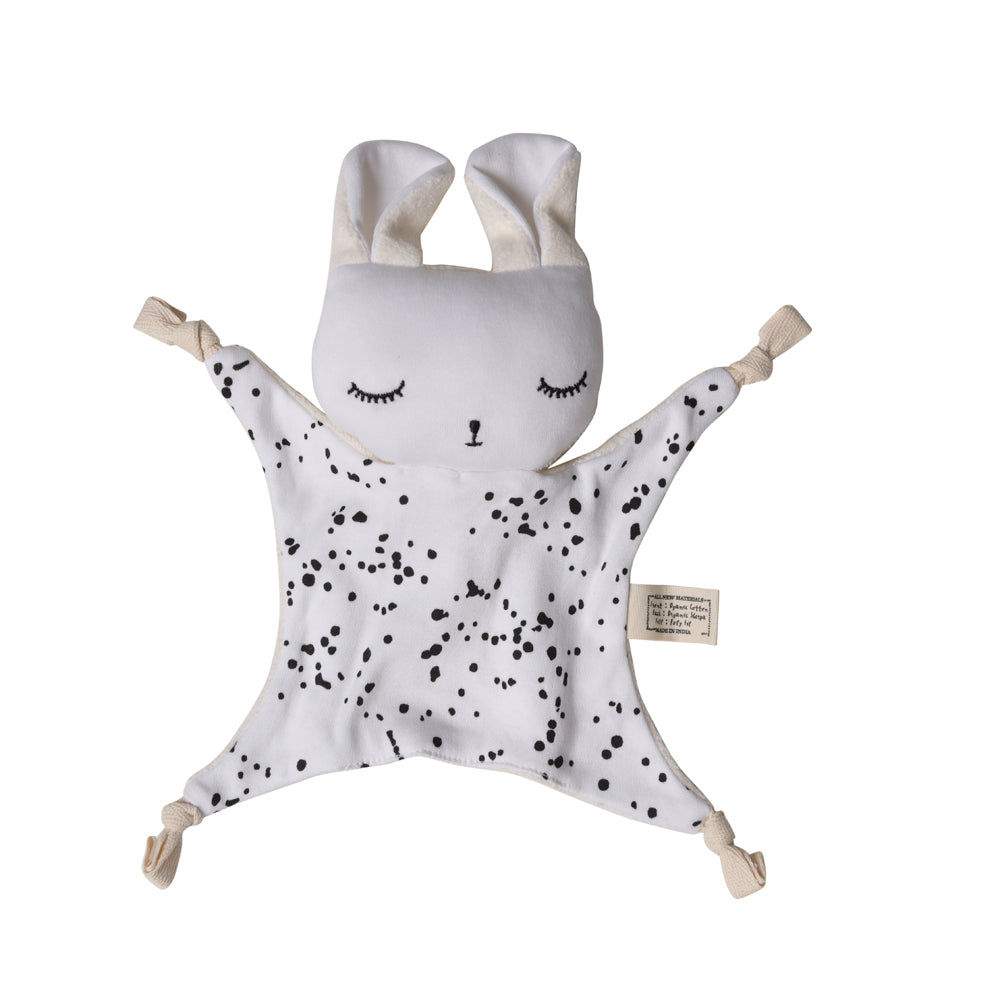 Wee Gallery Organic Cotton Cuddle Bunnies - Splatter