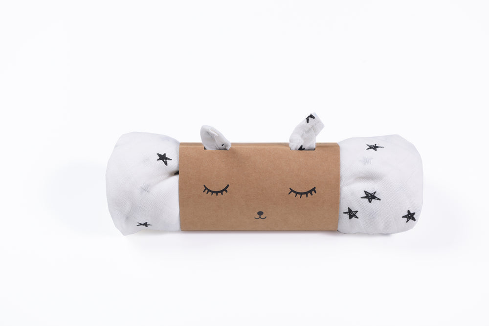 Wee Gallery Organic Swaddle - Stars