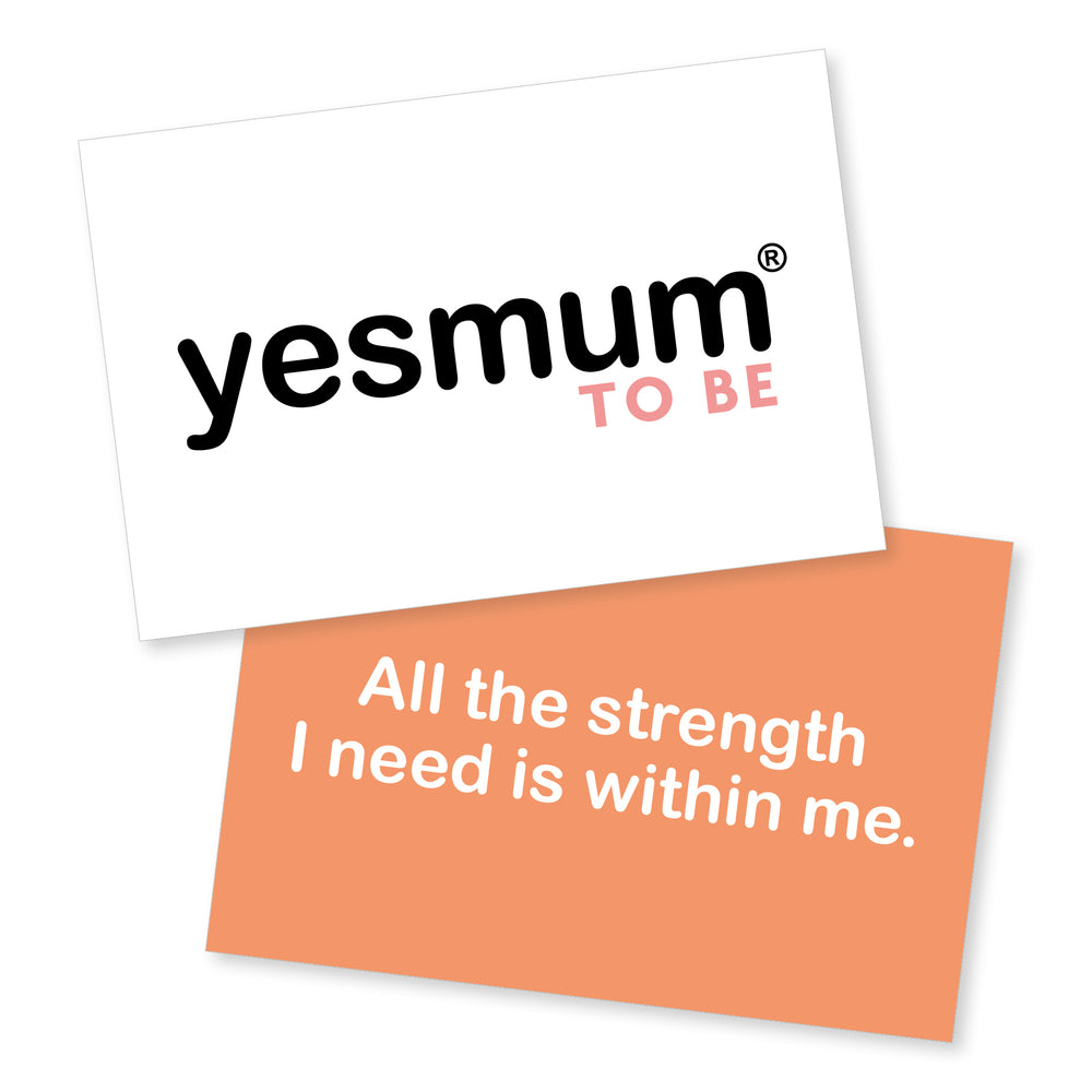 yesmum® To Be Affirmation Cards