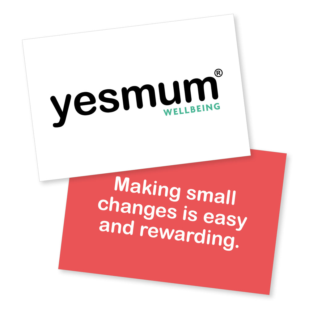 yesmum® Wellbeing Affirmation Cards