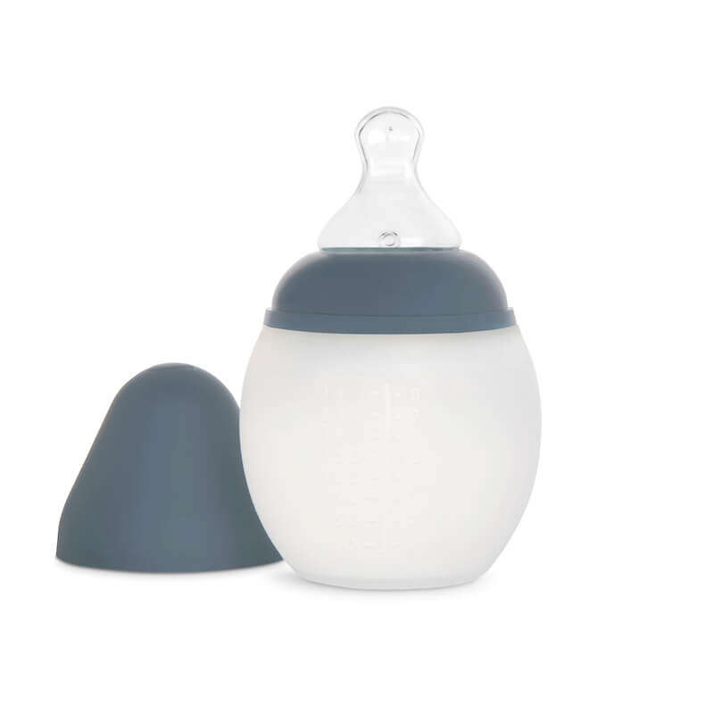 Élhée Baby Bottle in Blue Grey