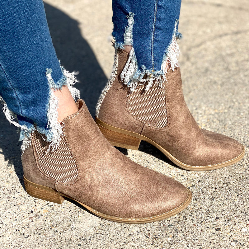 Made for Walkin' Booties