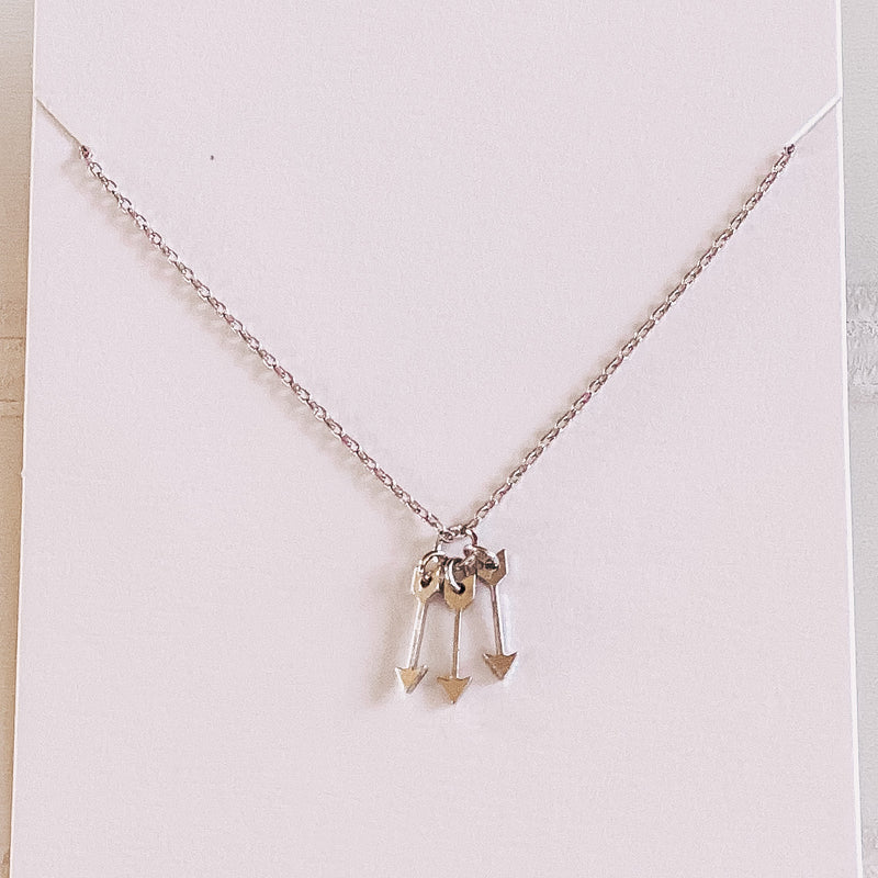 Triple Arrow Necklace