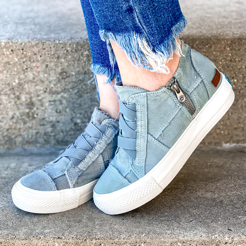 Blowfish Mamba Sneaker- Sweet Grey