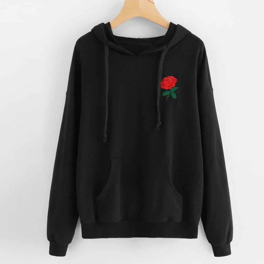 Rose Hoodie - Dash Couture