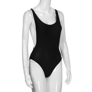 Backless Simple One Piece - Dash Couture