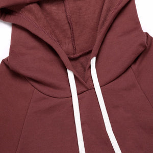 Sherlock Cropped Hoodie - Dash Couture