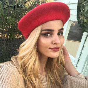 Wool Beret - Dash Couture