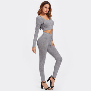Rib Knit Two Piece - Dash Couture