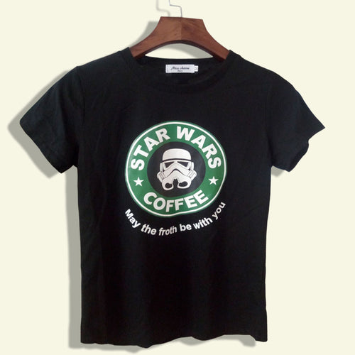 Star Wars Coffee Tee - Dash Couture