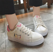 Embroider Print Sneakers - Dash Couture