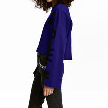 Knockdown Oversized Sweatshirt - Dash Couture