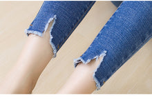 Distressed Ankle Jeans - Dash Couture