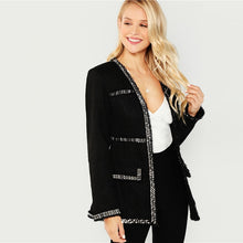 Highstreet Frayed-Edge Jacket - Dash Couture
