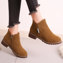 Simple Chunky Ankle Boots - Dash Couture