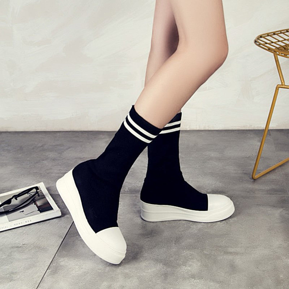 Ankle Sneaker Boots - Dash Couture