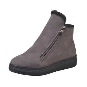 Dramatic Zip Ankle Boots - Dash Couture