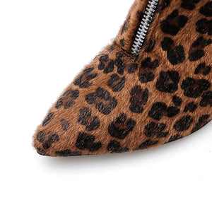 Leopard Booties - Dash Couture