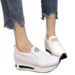 Air Platform Slip-Ons - Dash Couture