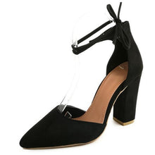 Retro Laced Pumps - Dash Couture